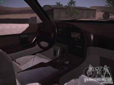 Chevrolet Corvette Grand Sport для GTA San Andreas вид сверху