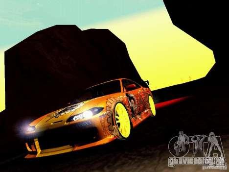 Nissan Silvia S15 Juiced2 HIN для GTA San Andreas вид сбоку