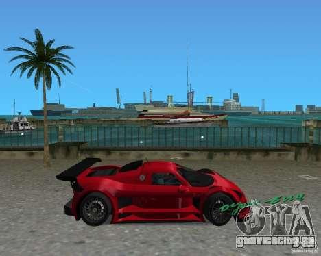 Gumpert Apollo Sport для GTA Vice City вид слева