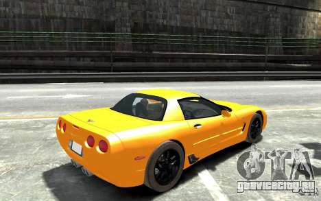 Chevrolet Corvette C5 2005 для GTA 4 вид справа