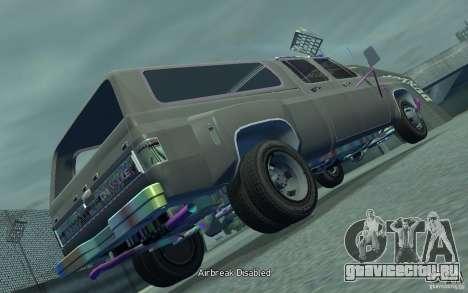 Chevrolet Silverado для GTA 4 вид сзади слева