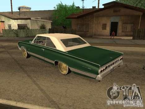 Mercury Park Lane Lowrider для GTA San Andreas вид слева
