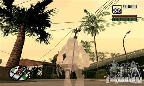 Effects of Predator v 1.0 для GTA San Andreas