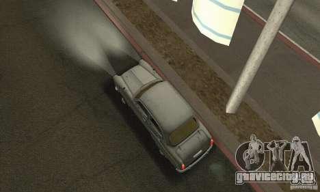 Москвич 407 1958 для GTA San Andreas вид сзади слева