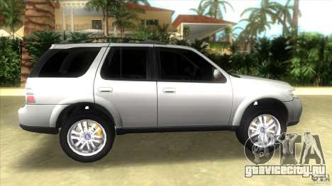 SAAB 9-7X для GTA Vice City вид слева