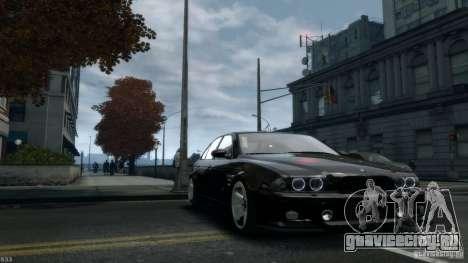 BMW M5 E39 AC Schnitzer Type II v1.0 для GTA 4 вид сзади