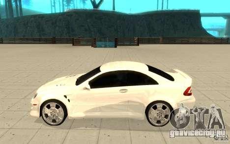 Mercedes-Benz CLK 500 Kompressor для GTA San Andreas вид слева
