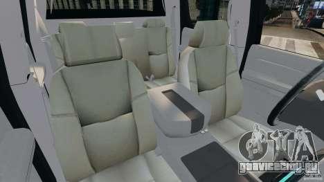 Chevrolet Avalanche 2007 [ELS] для GTA 4 вид изнутри