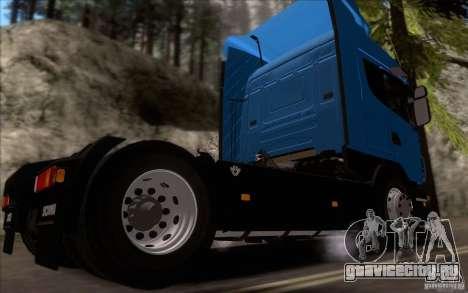 Scania R500 для GTA San Andreas вид сзади слева