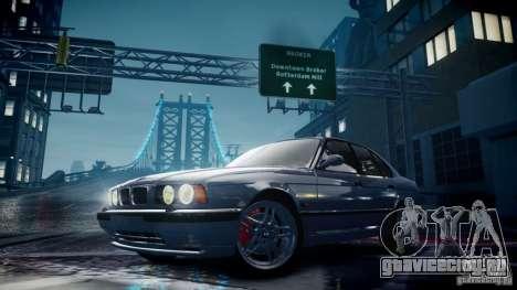 BMW M5 (E34) 1995 v1.0 для GTA 4 вид сбоку