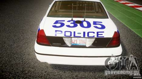 Ford Crown Victoria NYPD [ELS] для GTA 4 салон