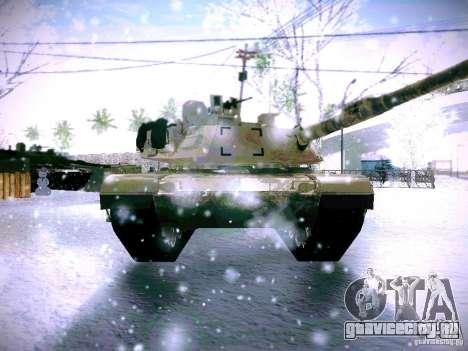 M1A2 Abrams из Battlefield 3 для GTA San Andreas вид сзади