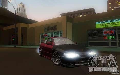 Honda Integra JDM для GTA San Andreas вид сзади