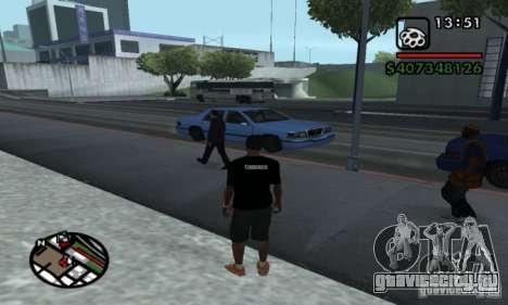 T-shirt codered для GTA San Andreas второй скриншот