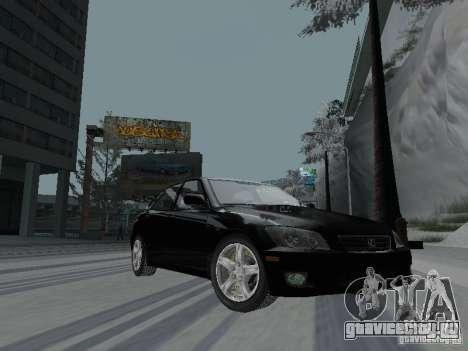 Lexus IS300 для GTA San Andreas вид сзади слева