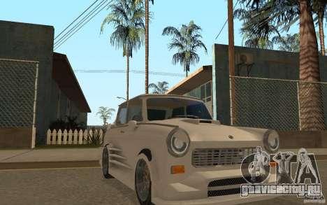 Trabant 601S Tuning для GTA San Andreas вид сзади