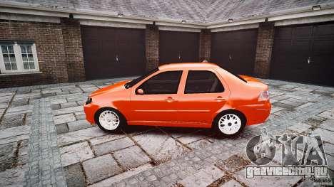 Fiat Albea Sole для GTA 4 вид слева