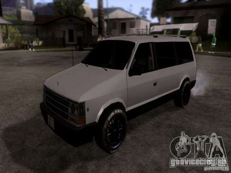 Plymouth Grand Voyager 1970 для GTA San Andreas