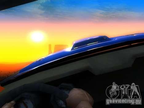 Fire Ball Paint Job 2 для GTA San Andreas вид справа