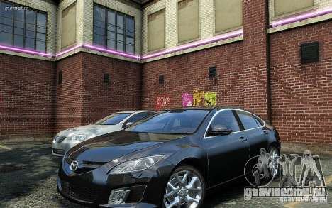 Mazda 6 2008 для GTA 4 вид справа