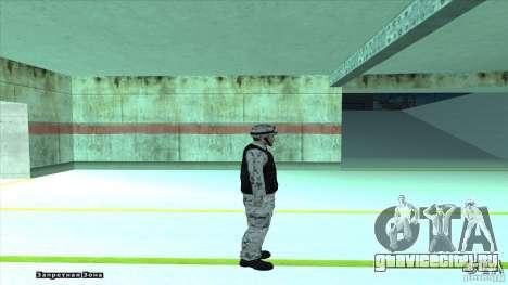 Army Soldier v2 для GTA San Andreas четвёртый скриншот