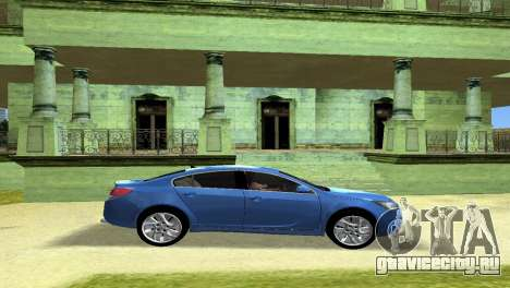 Buick Regal для GTA Vice City вид изнутри