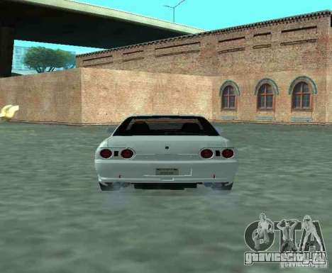 Nissan Skyline R32 GT-R для GTA San Andreas вид справа