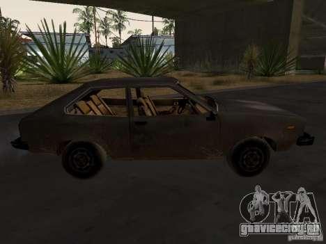 Авто 3 из CoD4-MW v2 для GTA San Andreas вид справа
