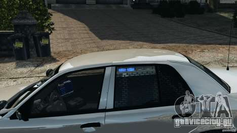 Ford Crown Victoria Police Unit [ELS] для GTA 4 салон