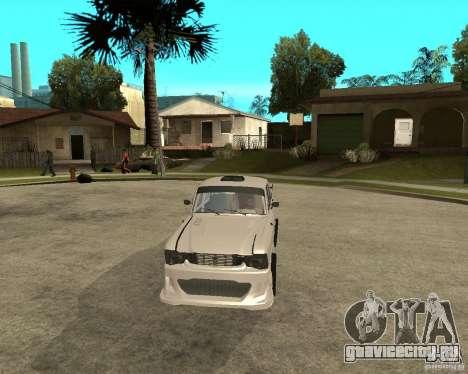 АЗЛК 412 tuned для GTA San Andreas вид сзади