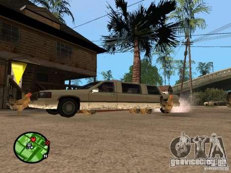 Куры в GTA San Andreas для GTA San Andreas четвёртый скриншот