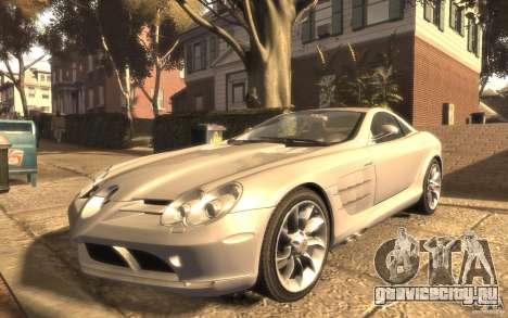 Mercedes-Benz SLR McLaren для GTA 4