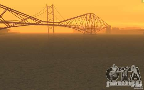 HD Вода V2.0 для GTA San Andreas второй скриншот