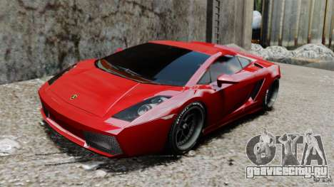 Lamborghini Gallardo Twin Turbo Kit для GTA 4