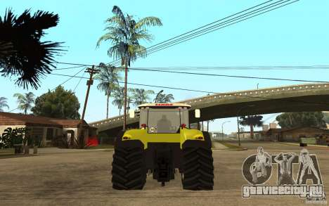 CLAAS Axion 850 для GTA San Andreas вид слева