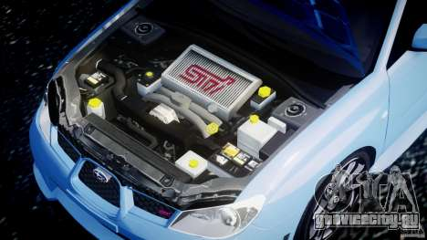 Subaru Impreza STI для GTA 4 вид справа