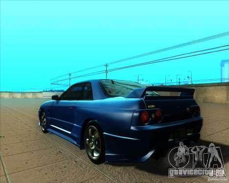 Nissan Skyline GT-R R32 1993 Tunable для GTA San Andreas салон