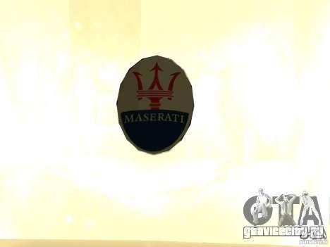Maserati GranCabrio 2011 для GTA San Andreas вид справа