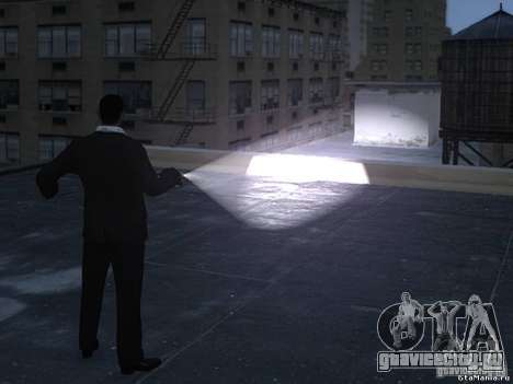 Flashlight 4 Weapons v1.0 для GTA 4 второй скриншот