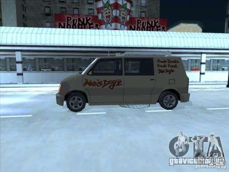 Hot Dog Moonbeam для GTA San Andreas вид сзади слева