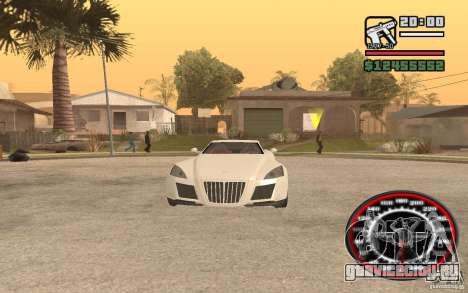 Maybach Exelero для GTA San Andreas вид справа