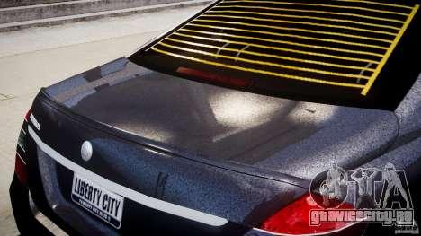 Mercedes-Benz S-Class W221 BRABUS SV12 для GTA 4 салон