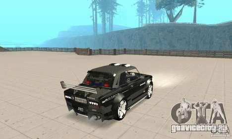 ВАЗ 2106 Fantasy ART tunning для GTA San Andreas вид слева