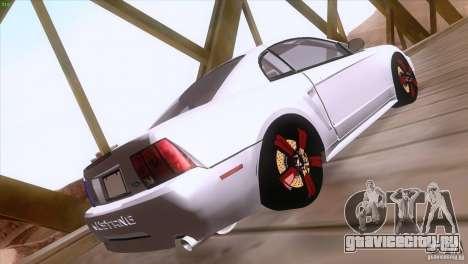 Ford Mustang GT 1999 для GTA San Andreas вид сбоку