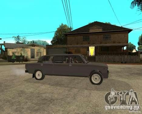 ВАЗ 2105 Лимузин для GTA San Andreas вид справа