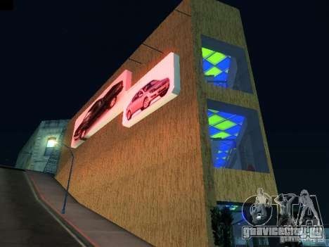 Новый автосалон в San Fiero для GTA San Andreas второй скриншот