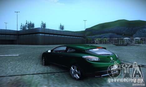 Renault Megane Coupe для GTA San Andreas вид слева