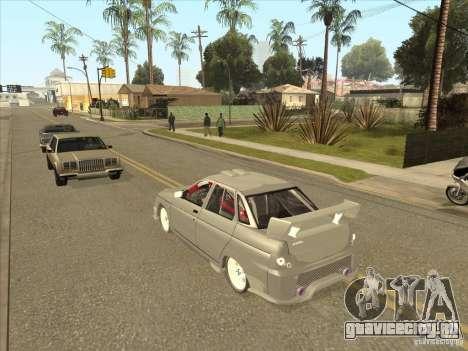 ВАЗ 21103 Уличный Тюнинг v1.0 для GTA San Andreas вид изнутри