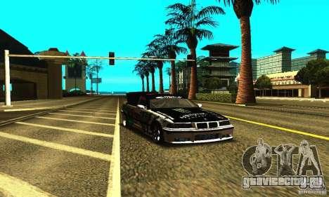 BMW E36 Drift для GTA San Andreas вид сбоку
