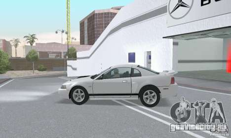 Ford Mustang GT 2003 для GTA San Andreas вид сбоку